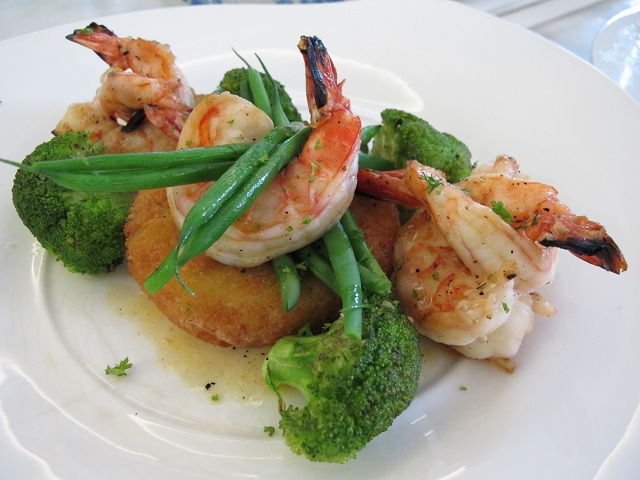 Lime butter prawns, the dish that won us over